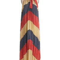 Dear Creatures Vintage Inspired Long Sleeveless Maxi Debut Want to Know a Secret? Dress