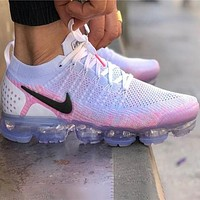 Nike Air Vapormax Flyknit 2  Women Men Fashion Casual Sneakers Sport Shoes