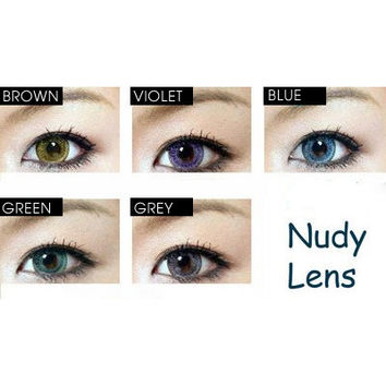 GEO Nudy Series - Circle Lens - Colored Contacts | EyeCandy's