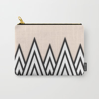 Just Peachy Carry-All Pouch by Urban Exclaim Co.