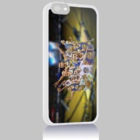 Stephen Curry Golden State Warrior for Iphone 4/4s 5 5c 6 6plus Case (Iphone 6plus white)