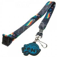 My Little Pony Brony Gray Rainbow Dash Lanyard - My Little Pony - | TV Store Online