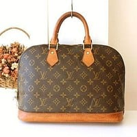 Tagre™ Louis Vuitton bag Vintage LV monogramed Purse Louis Vuitton Alma handbag