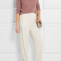 Allude - Ribbed cashmere turtleneck sweater