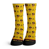 Function - Cool Beans Pattern Novelty Funny Fashion Socks