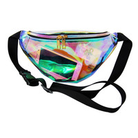 Goodweather Solid Pvc Waist Packs For Women Casual-bag