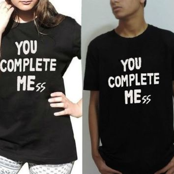 You Complete Mess Me Luke Hemmings T shirt five 5 Seconds of Summer 5SOS tee top