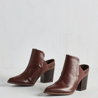 90s Contemporary Couturier Bootie by ModCloth