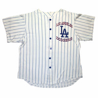 Vintage 90s Off The Bench Los Angeles Dodgers Jersey Mens Size Large