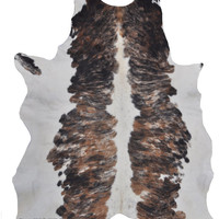 Tricolor Cowhide Rug - FINAL SALE - Product As Is