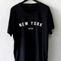 New York 199x Oversized Tee