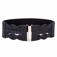 Stretchy Elastic Waist Belt Waistband
