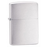 ZIPPO Brushed Chrome Armor Heavy Wall Lighter Zippo Lighter