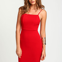 CAMI SLINKY BODYCON DRESS
