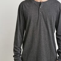 Speckled Henley