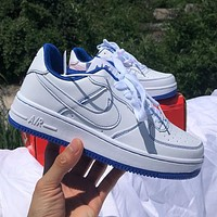 Nike Air Force 1 AF1 Low help colorblock low help men's and women's sneakers Shoes 1