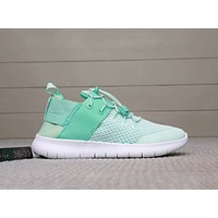 NIKE FREE RN CMTR 2018 Summer New Style Couples barefoot running shoes F-A0-HXYDXPF green