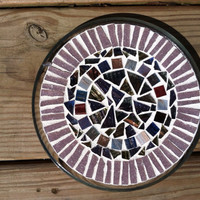 Circles Candle Plate
