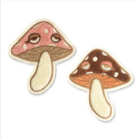 Cute Mushroom Patch Set