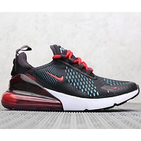 Nike Air Max 270 Flyknit Atmospheric cushion shock-absorbing running shoes