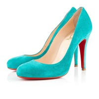 RON RON SUEDE 100 mm, Suede, Caraibes, Women Shoes