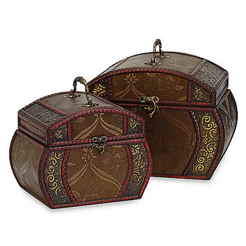 Nearly Natural Decorative Chests (Set of 2)
