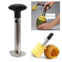 Pineapple Corer Slicer Cutter Peeler Stainless Steel Kitchen Easy Gadget Fruit = 5617241217