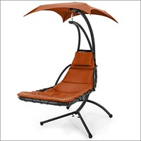BCP Hanging Chaise Lounge Chair w/ Canopy