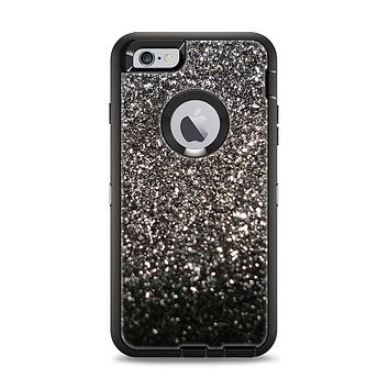 The Black Unfocused Sparkle Apple iPhone 6 Plus Otterbox Defender Case Skin Set