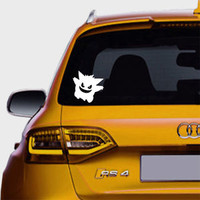 Gengar Ghost Pokemon Scary Decal Stickers For Car Truck SUV Window Vinyl Cars