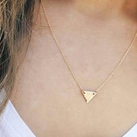 Nora Triangle Necklace