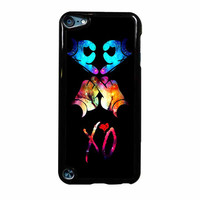 Mickey Hand Xo Ovoxo Galaxy Design iPod Touch 5th Generation Case