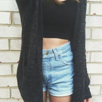 Sweater With Pocket Jacket [9582091727]