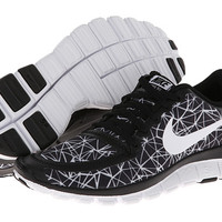 Nike Free 5.0 V4 Black/Black/White - Zappos.com Free Shipping BOTH Ways