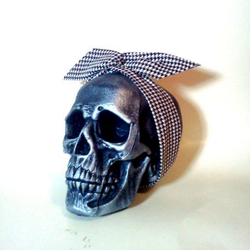 Houndstooth Headband, Houndstooth Bow, Black and White, Houndstooth, Dolly Bow, Wire Headband, Trendy Headband, Bow Headband, Twist Headband