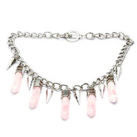 Crystal Stones Necklace (LAST ONE)