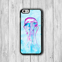 Watercolor Art Jelly Fish Painting iPhone 6 Cases iPhone 6 Plus, iPhone 5S, iPhone 5 Case, iPhone 5C Case, iPhone 4/4S Accessories Christmas