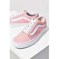 Vans With Warm Casual Shoes Men and women Pink cloth shoes Pink F
