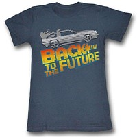 Back To The Future Juniors Tee