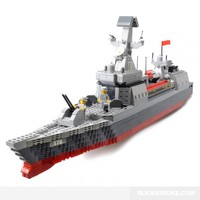 Guided Missile Destroyer - Lego Compatible