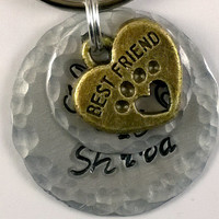Pet Name Tag, Pet ID Tag, Hand Stamped Tag, Handstamped Tag, Personalized Tag, Dog Tags, Collar Tags, Pet Jewelry, Halter Tags, dog collar