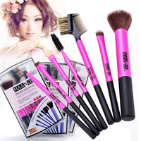 Professional Makeup Brush Set Cosmetic Brushes Foundation Eyeshadow Brush 7pcs 7_S = 1917128836