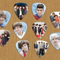 Printed Picks Company One Direction Loose Guitar Picks X 10 (Limited to 500 sets of 10 Picks)