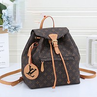 Louis Vuitton LV Hot Selling Classic Large Capacity Backpacks Handbags Fashion Men's and Women's Schoolbags