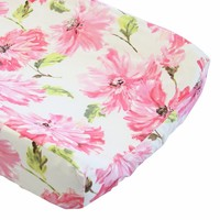 Tallulah Pink - Changing Pad Cover