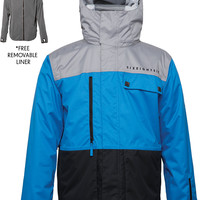 686 Authentic Smarty Form Snowboard Jacket - Colorblock