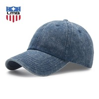 Trendy Winter Jacket LMB Denim Soft Washed Cotton Male Snapback Men's Baseball Caps Women Cap Good Quality Man Golf Hats Unisex Casual Summer Hat AT_92_12