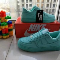 """""""Nike Air Force 1"""" Women Sport Casual Candy Colors Low Help Shoes Sneakers Plate Shoes"""