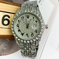 Rolex fashion men's and women's casual business watche