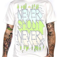 Never Shout Never T-Shirt - Morning To Evening